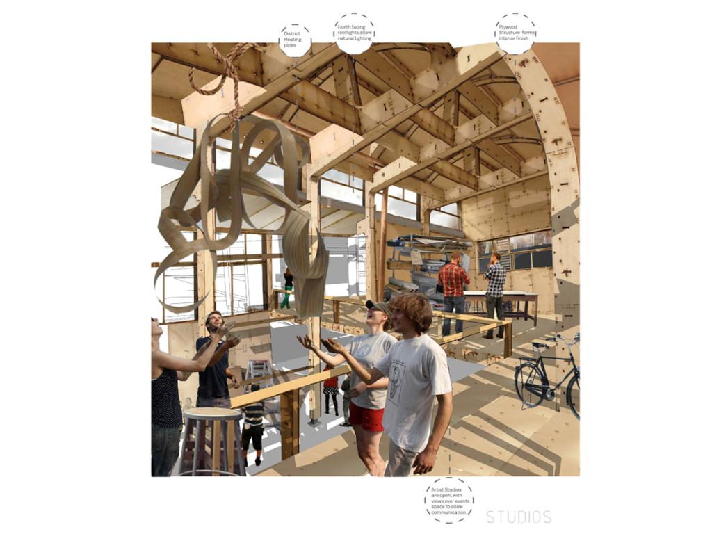 Studio Plastic: Production Space Proposals