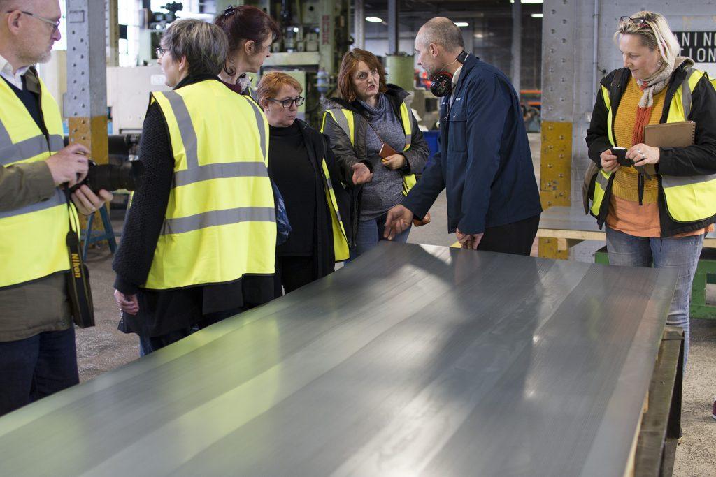 Factory Visit: Ash & Lacy