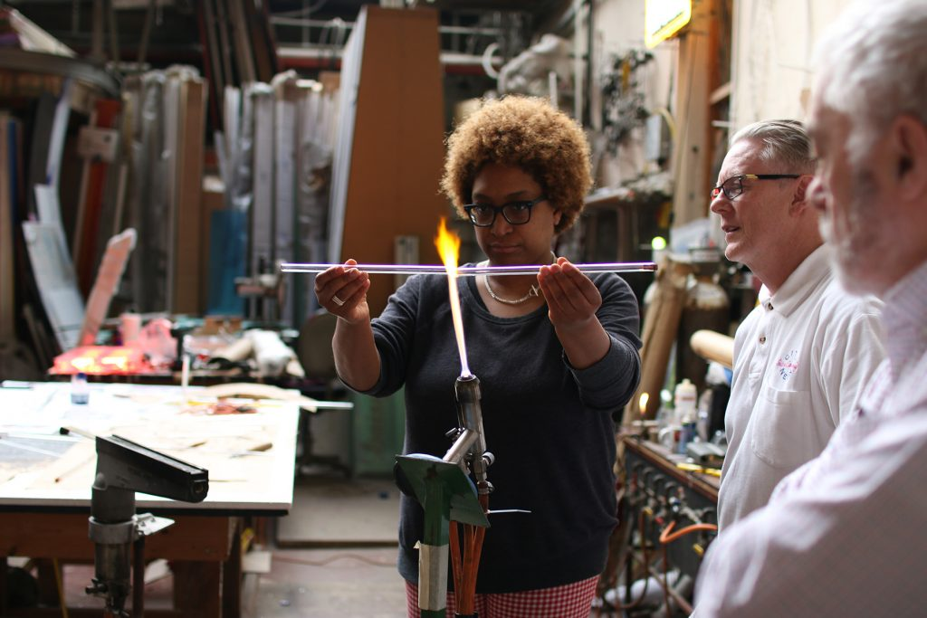 Site Visit: An Introduction to Neon Fabrication