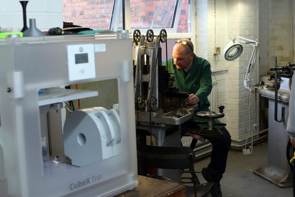 Factory Visit: L J Millington, Silversmith